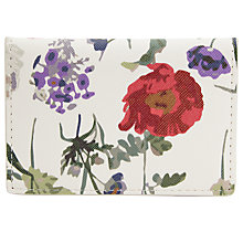 Buy John Lewis Floral Print Card Holder, Multi Online at johnlewis.com