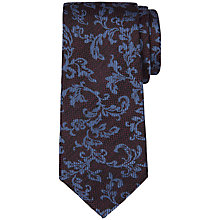 Buy Ted Baker Cocotie Textured Pattern Silk Tie Online at johnlewis.com