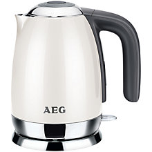 Buy AEG EWA7100W-U Kettle, Cream Online at johnlewis.com