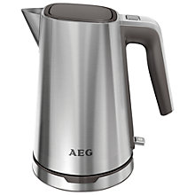Buy AEG EWA7300-U Kettle, Stainless Steel Online at johnlewis.com