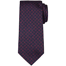 Buy Ted Baker Attacus Textured Weave Silk Tie Online at johnlewis.com