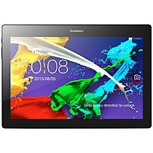 "Buy Lenovo Tab 2 A10 Tablet, Quad-core Processor, Android, 10.1"", Wi-Fi & 3G, 16GB Online at johnlewis.com"