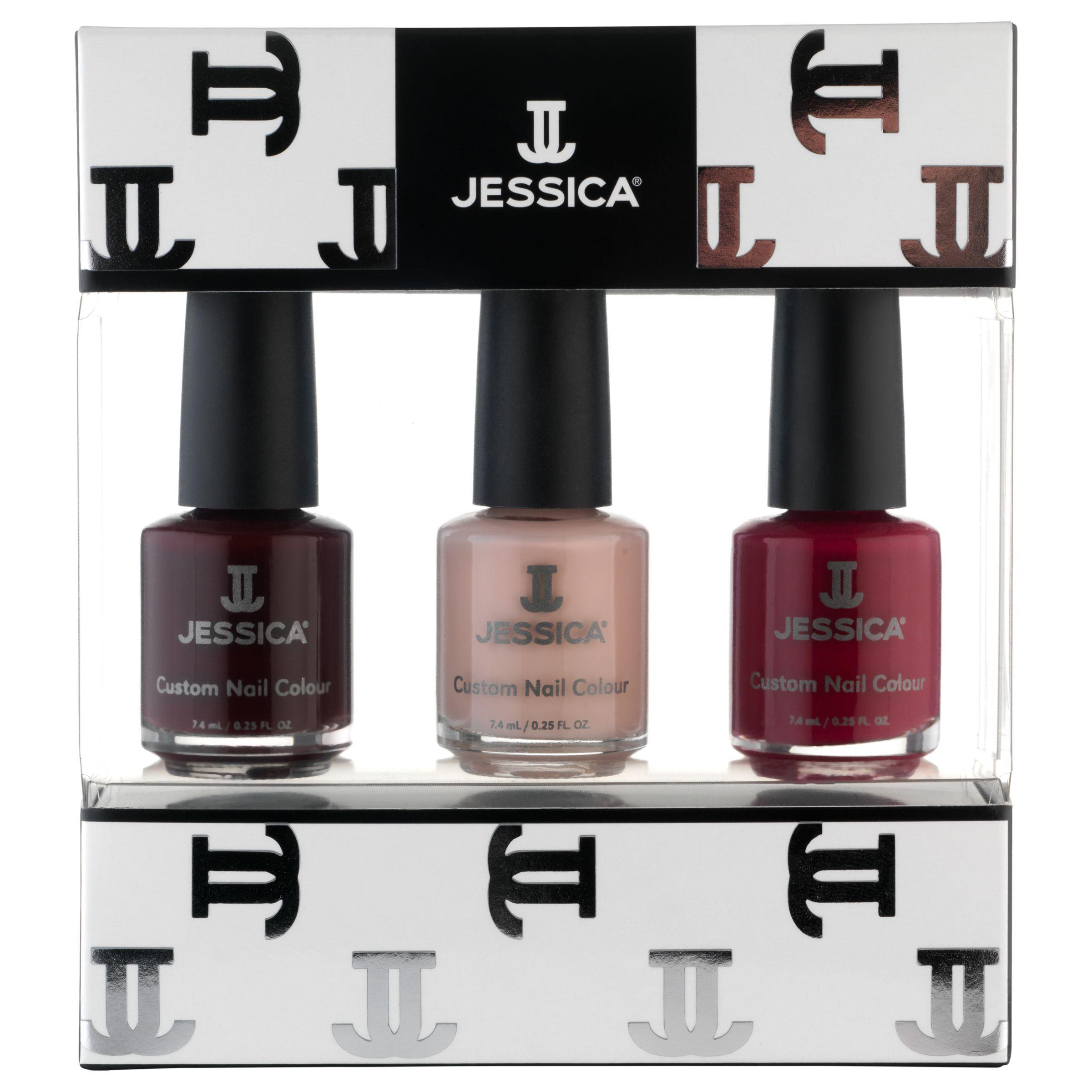 Jessica Jessica Classics Midi Vitamin Enriched Custom Colours Gift Set, 3 x 7.4ml
