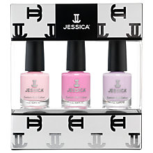 Buy Jessica Pastel Midi Vitamin Enriched Custom Colours Nail Gift Set, 3 x 7.4ml Online at johnlewis.com