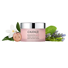 Buy Caudalie Resveratrol Lift Night Infusion Cream, 50ml Online at johnlewis.com
