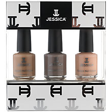 Buy Jessica Nudes Midi Vitamin Enriched Custom Colours Nail Gift Set, 3 x 7.4ml Online at johnlewis.com
