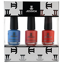 Buy Jessica Summer Brights Midi Vitamin Enriched Custom Colours Gift Set, 3 x 7.4ml Online at johnlewis.com