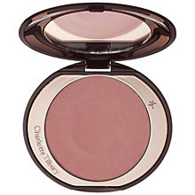 Buy Charlotte Tilbury Cheek to Chic Blusher, Love Glow Online at johnlewis.com