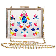 Buy Skinnydip Spectrum Bead Clutch Bag, Multi Online at johnlewis.com