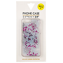 Buy Skinnydip Silver Glitter iPhone 6 Case, Silver Online at johnlewis.com