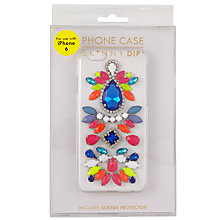 Buy Skinnydip Spectrum Jewelled iPhone 6 Case, Multi Online at johnlewis.com