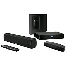 Buy Bose® SoundTouch™ 120 Wireless Wi-Fi Bluetooth Soundbar with Wireless Acoustimass Module Online at johnlewis.com