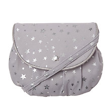 Buy Rockahula Girls' Starry Bag Purse, Silver Online at johnlewis.com