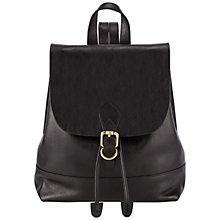 Buy John Lewis Genevieve Leather Backpack Online at johnlewis.com