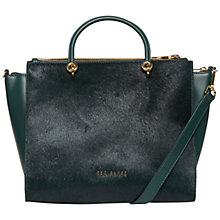 Buy Ted Baker Louisa Large Leather Cross Body Tote Bag Online at johnlewis.com