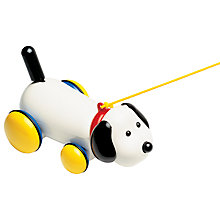 Buy Ambi Toys Max Pull Along Dog Online at johnlewis.com