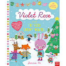 Buy Violet Rose And The Very Snowy Winter Activity Book Online at johnlewis.com