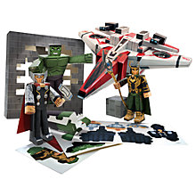 Buy The Avengers Avenjet Aircraft Vehicle Paper Craft Pack Online at johnlewis.com