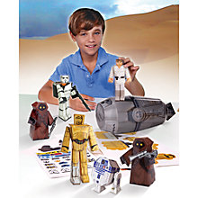Buy Star Wars Episode VII: The Force Awakens Blueprint Papercraft Desert Pack Online at johnlewis.com