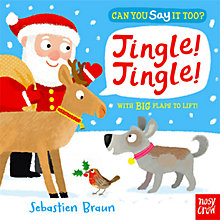 Buy Can You Say It Too? Jingle! Jingle! Book Online at johnlewis.com