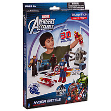 Buy The Avengers Hydra Battle Heroes Paper Craft Pack Online at johnlewis.com
