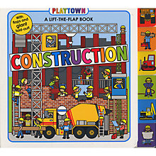Buy Playtown Construction Lift-The-Flap Book Online at johnlewis.com