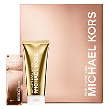 Buy Michael Kors Rose Radiant Gold 50ml Eau de Parfum Gift Set Online at johnlewis.com
