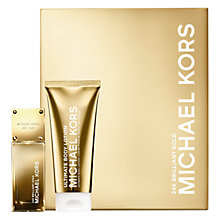 Buy Michael Kors 24K Brilliant Gold 50ml Eau de Parfum Gift Set Online at johnlewis.com
