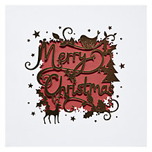Buy Paperlink Merry Christmas Card Online at johnlewis.com