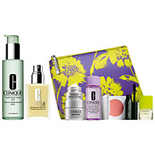 Buy Clinique Dramatically Different Moisturising Lotion+, 125ml and Liquid Facial Soap - Mild, 200ml with FREE Clinique Bonus Time Makeup Bag Gift Online at johnlewis.com
