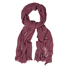 Buy White Stuff Skinny Dreaming Away Scarf, Berry Online at johnlewis.com