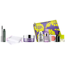 Buy Clinique High Impact Mascara and Take The Day Off Cleansing Cloth and Take The Day Off Cleansing Balm, 125ml with FREE Clinique Bonus Time Gift Online at johnlewis.com