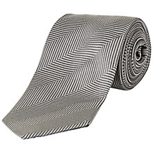 Buy Jaeger Oversized Herringbone Tie Online at johnlewis.com