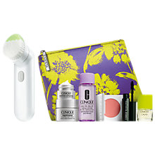 Buy Clinique Sonic System Purifying Cleansing Brush with FREE Clinique Bonus Time Gift Online at johnlewis.com