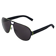 Buy Christian Dior Dior0190S Rectangular Sunglasses, Grey Online at johnlewis.com