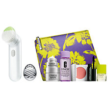 Buy Clinique Sonic System Purifying Cleansing Brush and Sonic System Massaging Applicator with FREE Clinique Bonus Time Gift Online at johnlewis.com