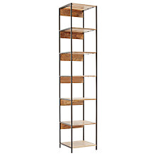 Buy west elm Rustic Modular BookShelf Online at johnlewis.com