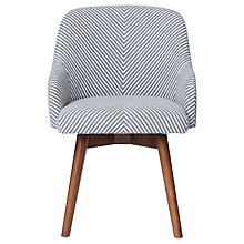 Buy west elm Saddle Office Chair, Painted Stripe Online at johnlewis.com