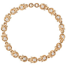 Buy Susan Caplan Vintage 1960s Trifari Faux Pearl Figure Eight Necklace, Pearl Online at johnlewis.com