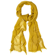 Buy White Stuff Skinny Dreaming Away Scarf, Green Online at johnlewis.com