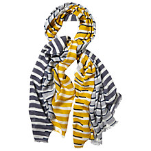 Buy White Stuff Piano Stripe Scarf, Multi Online at johnlewis.com