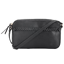 Buy John Lewis Plait Toaster Bag, Black Online at johnlewis.com