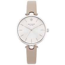 Buy kate spade new york Women's Holland T Bar Leather Strap Watch Online at johnlewis.com