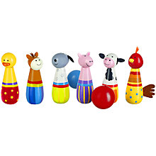 Buy Orange Tree Farmyard Skittles Game Online at johnlewis.com