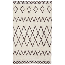Buy west elm Kasbah Rug, Ivory Online at johnlewis.com