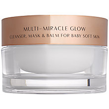 Buy Charlotte Tilbury Multi-Miracle Glow Cleanser, Mask & Balm, 100ml Online at johnlewis.com