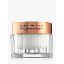 Buy Charlotte Tilbury Charlotte's Magic Cream Treat & Transform Moisturiser SPF15 Online at johnlewis.com