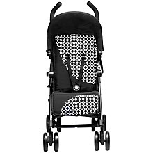 Buy Silver Cross Pop Exclusive Pushchair, Black Links Online at johnlewis.com