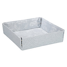 Buy John Lewis Cow Parsley Pop Up Storage Tray Online at johnlewis.com