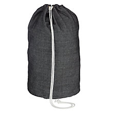 Buy John Lewis Brooklyn Textured Laundry Bag Online at johnlewis.com